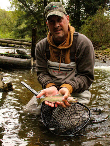 Pennsylvania fly fishing guide trip!