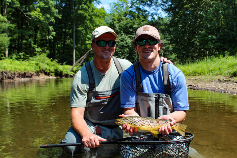 Best trout fly fishing in PA.